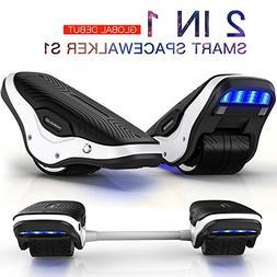 TOMOLOO 2 in 1 Spacewalker S1 Electric Roller Skate Hover Bo
