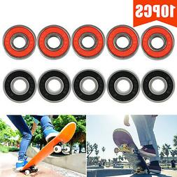 10Pcs/Set ABEC 9 Skateboard Stunt Roller Skate Wheels Scoote