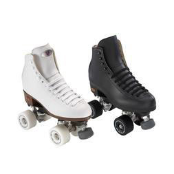Riedell 111 Angel with Fame wheels Artistic Roller Skates