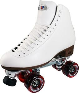 Riedell 120 White Celebrity Plus Outdoor Roller Skates Size