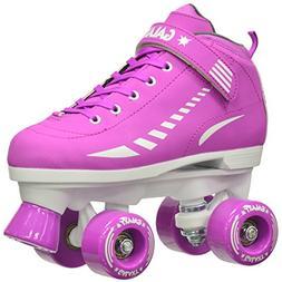 New 2016 Purple Epic Galaxy Elite Purple Quad Roller Skates