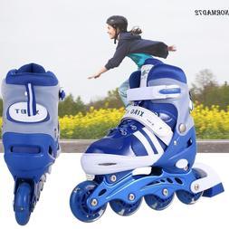 Adjustable Inline Skates Roller Blades Size S-L  Breathable