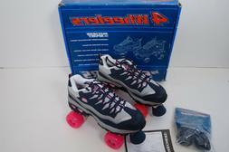 Skechers 4 Wheelers Sneaker Quad Roller Skates Navy Hot Pink