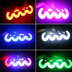 4pcs LED Flashing PU Wheel 76mm 70mm 64mm for Inline <font><