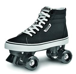 Roces 550030 Model Chuck Roller Skate,Black/White,9USW,7USM,