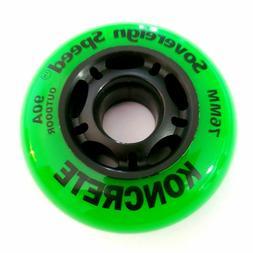 70mm 72mm 76mm 80mm 84mm 100mm Inline Skate Rollerblade Whee
