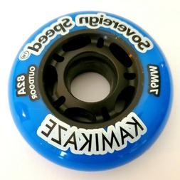 8 Indoor Hi-Lo Inline Roller Hockey Skate Wheels 4 76mm 4 80