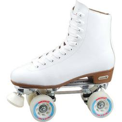 Chicago 800 White High Top Women's Roller Skates - For Ind