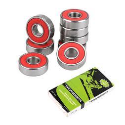 8pcs Ceramic Bearings 608Rs For Inline / Quad Roller Skate S