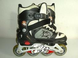 Mongoose ABEC-7 Inline Roller Blades Skates Youth Size Adjus