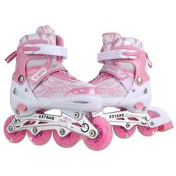 Adjustable Children Roller Skates Roller Blades Kids Youth S