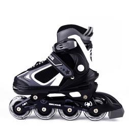 Adjustable Inline Skates for Kids, Rollerblades Girls Boys w