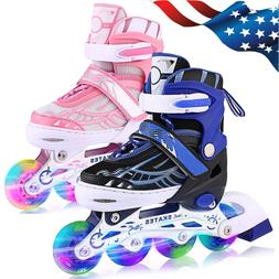 adjustable inline skates for kids safe