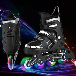 Adjustable Inline Skates Roller Blades Adult or Kid Breathab