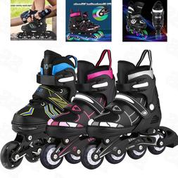 Adjustable Inline Skates Roller Blades Unisex Adult /Kid Siz