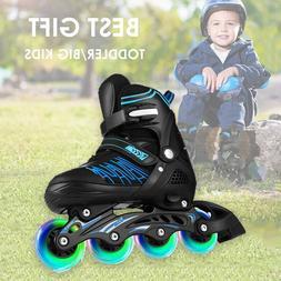 CAROMA Adjustable Inline Skates Roller Blades Unisex Adult/K