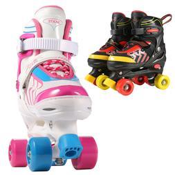 Adjustable Inline Skates Roller Skates for Kids Girls Boys D