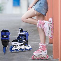 Adjustable Kids Roller Blades Inline Skates Child Tracer Ind