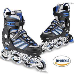 adjustable men inline skates roller blades adult