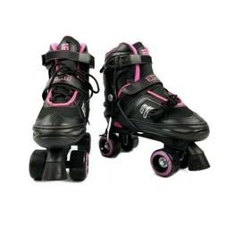 Mongoose Adjustable Padded Roller Skates Girls Sizes 5-8 Mod