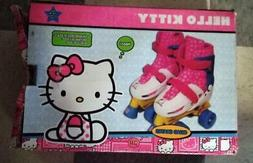 Hello Kitty Adjustable Quad Roller Skate, Size 10-13
