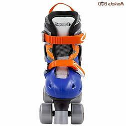 Adjustable Quad Roller Skate Chicago Boy's, Blue/Silver