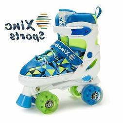 Xino Sports Adjustable Roller Skates for Children - Featurin