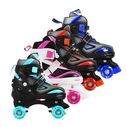 Adjustable Roller Skates For Kids Teen And Ladies Sizes 13J-
