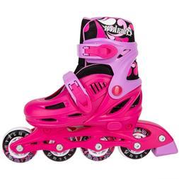 Cal 7 Adjustable Size Inline Roller Skates Kids Youth Boys G