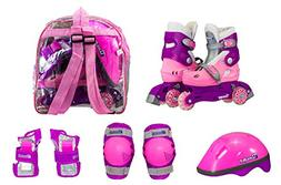 Chicago Girls Adjustable Training Skates Combo - Size 1-4
