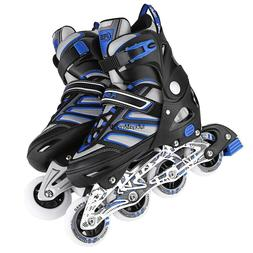 adult cool breathable adjustable size inline skates