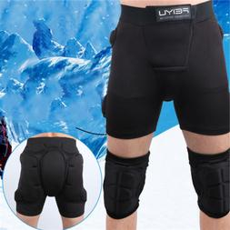 Adult Safety Outdoor Roller Skating Knee Pads Skating Hip Pr