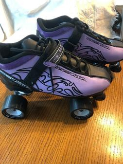 Pacer ATA-600 Purple  Womens Speed Roller Skates Size 8