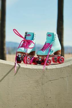 Moxi Beach Bunny Roller Skates Blue Sky Size 10   NIB