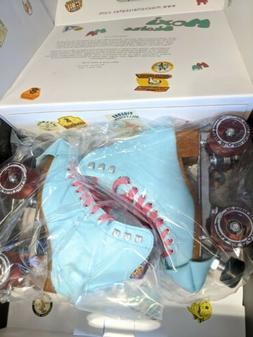 Moxi Beach Bunny Roller Skates Moxi Size 5  Sky Blue  READY