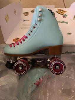 Moxi Beach Bunny Roller Skates Moxi Size 5  Sky Blue - READY