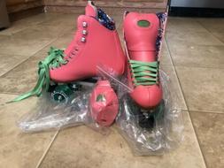 Moxi Roller Skates Beach Bunny Watermellon - Size 4