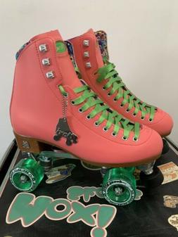 Moxi Beach Bunny Watermelon Roller Skates Size 9 W/ Toe Guar