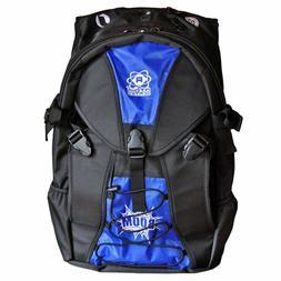 blue backpack roller skate equipment bag roller