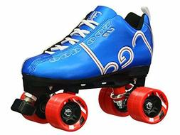 Blue Labeda Voodoo U3 Quad Roller Speed Skates Customized w/