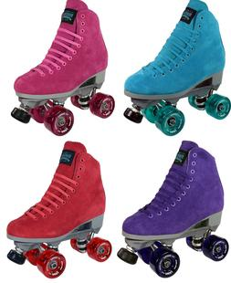 Sure-Grip Boardwalk Indoor Roller Skates Pair with Fame Whee