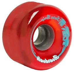 Sure-Grip Boardwalk Outdoor Wheels - Red