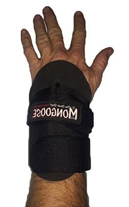 "Mongoose ""Clean Shot"" Bowling Wrist Support, Large, Black"