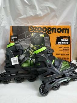 Mongoose Boy's Inline Skates, Large, Sizes 5 - 8 New In Box