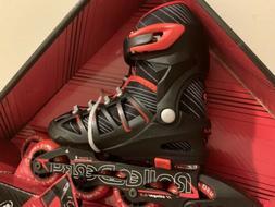 Roller Derby Boy's Stinger 2-5 Adjustable Inline Skate Mediu