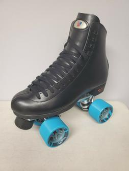 Brand New Riedell 120 Leather Boot Roller Skates Mens Size 1