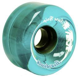 Brand New Blue Boardwalk Outdoor Roller Skate Wheels 65mm
