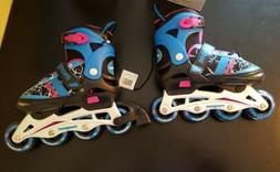 BRAND NEW GIRLS SMALL 1-4 MONGOOSE INLINE ROLLER SKATES PINK