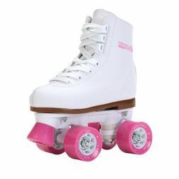 Brand New Chicago Kids Roller Skates Girls White & Pink size