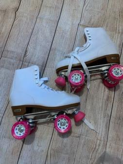 Brand NEW Chicago Ladies Roller Rink Skates White Hot Pink W